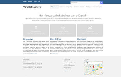 E captain website voorbeeld 004